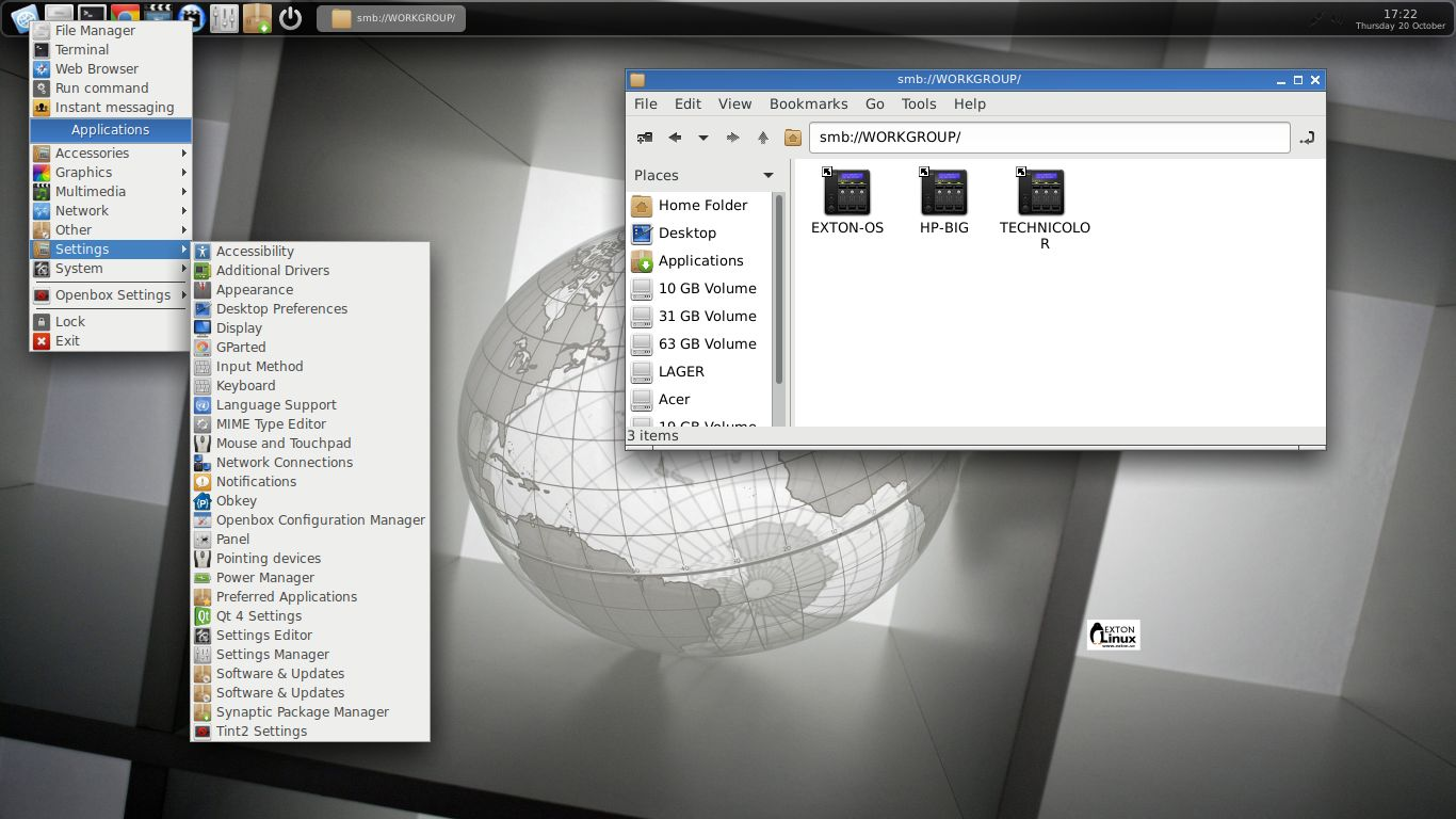 Openbox – Exton Linux | Live Systems